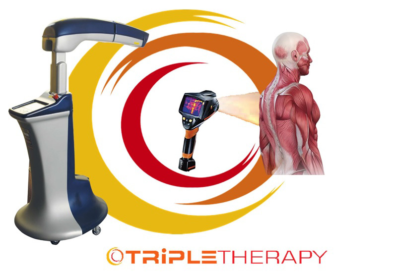 triple therapy laser